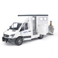 Mercedes-Benz Sprinter фургон с лошадью Bruder