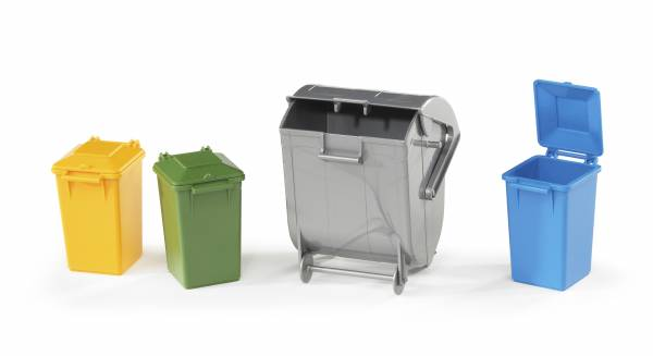 Аксессуары Bruder F: набор мусорных баков