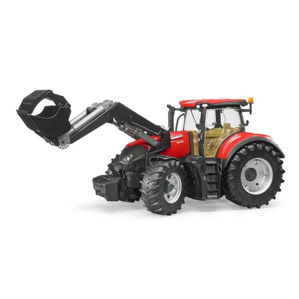 Трактор Bruder Case IH Optum 300 CVX с погрузчиком