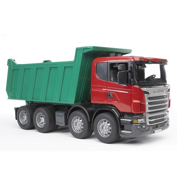"""Самосвал Bruder Scania (подходит модуль со звуком и светом """"H"""")"""
