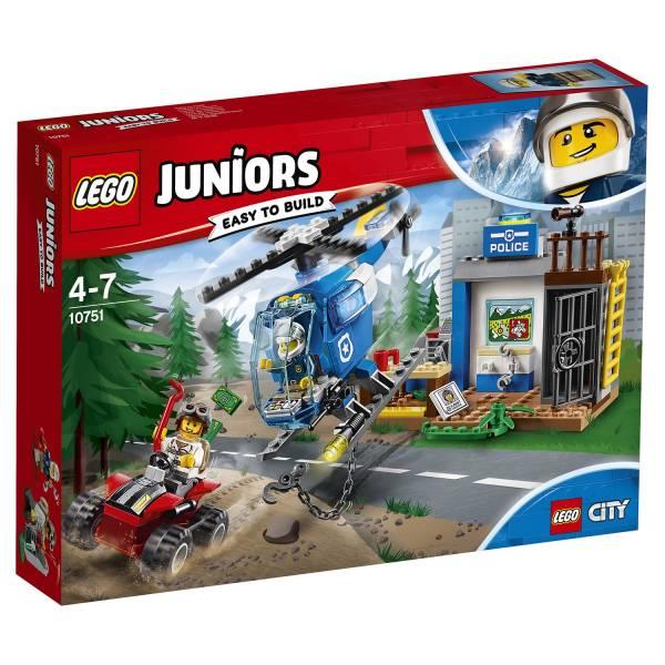 """Конструктор LEGO Juniors """"Погоня горной полиции"""""""