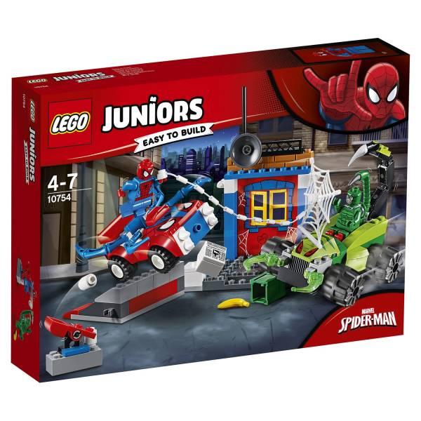 Конструктор LEGO Junior Решающий бой Человека-паука против Скорпиона