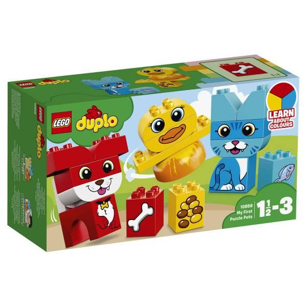 """Конструктор LEGO DUPLO """"Мои первые домашние животные"""""""