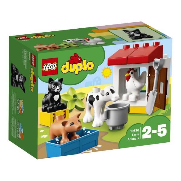 """Конструктор LEGO DUPLO """"Ферма: домашние животные"""""""