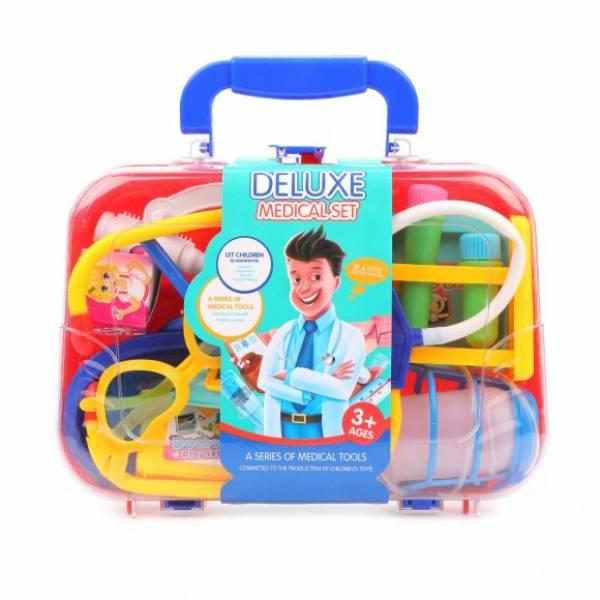 Набор доктора в чемоданчике 12 предметов.