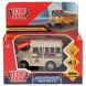 Машина металл школьный автобус 8 см, инерционный, Технопарк
