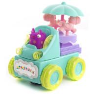 Машинка музыкальная Кошечка Мяу, движение, свет