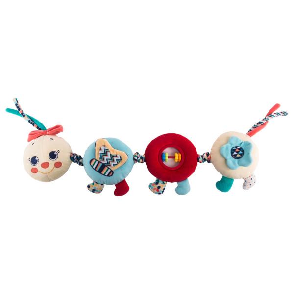 Игрушка - подвес Весёлая гусеница Камилла