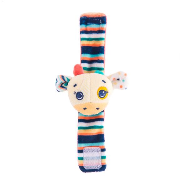 Игрушка-погремушка на ручку Жираф Спот