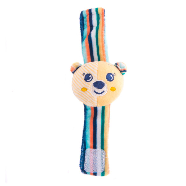 Игрушка-погремушка на ручку Мишка Берни