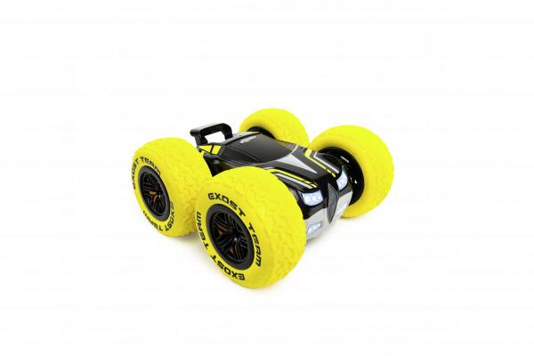 Машина 360 кросс на радиоуправлении 1:18 желтая