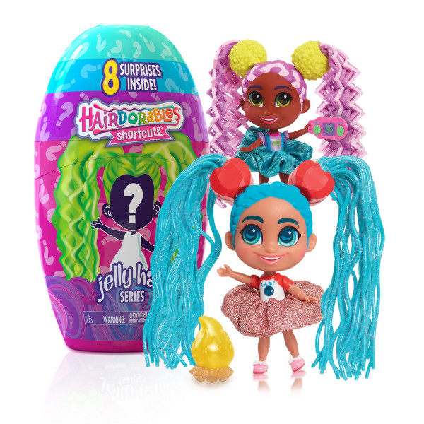 Hairdorables. Малышки-сестрички «Мармеладная фантазия»