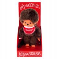 Monchhichi 20 см мальчик в красном слюнявчике