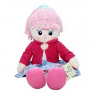 Кукла мягкая Gulliver Земляничка, 40 см