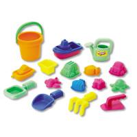Набор Keenway: 16 игрушек для песочницы в сетке