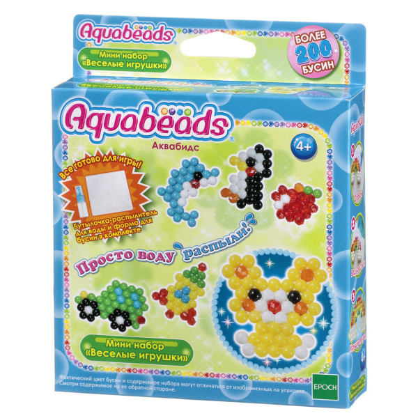 """Мини набор Aquabeads """"Веселые игрушки"""""""