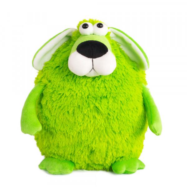 "Мягкая игрушка ""Button Blue"", Собачка - кругляш зеленый, 27 см"