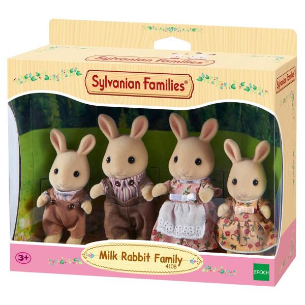 """Sylvanian Families набор """"Семья Молочных Кроликов"""""""