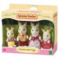 """Sylvanian Families набор """"Семья Шоколадных Кроликов"""""""
