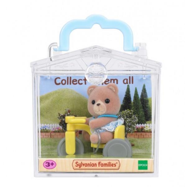 "Sylvanian Families  набор ""Медвежонок на велосипеде"""