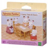 """Sylvanian Families набор """"Обеденный стол с 5-ю стульями"""""""