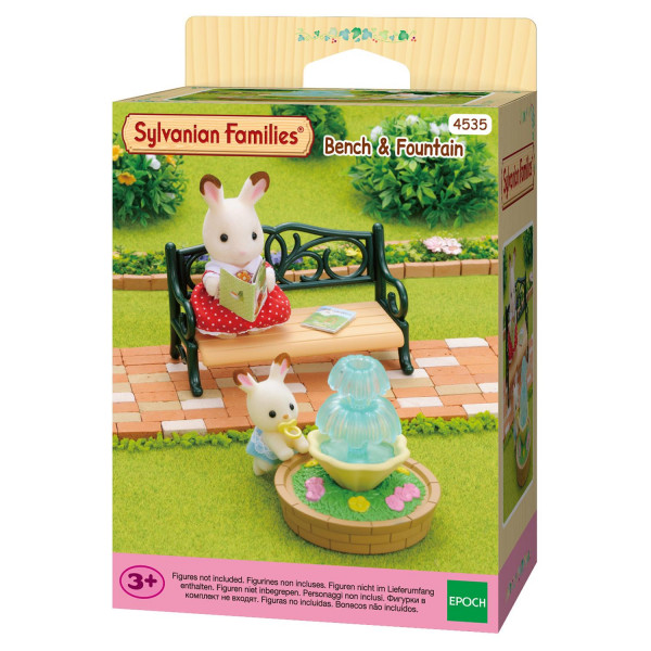 "Sylvanian Families набор ""Фонтан и скамейка"""