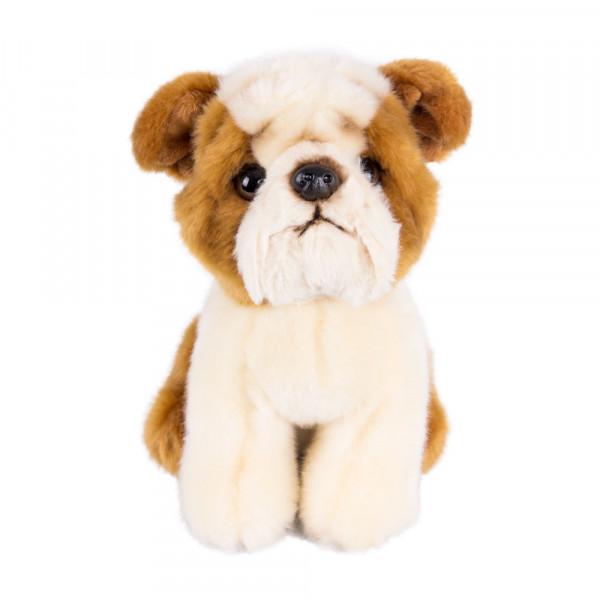 Мягкая игрушка Gulliver Щенок Бульдог, 18 см