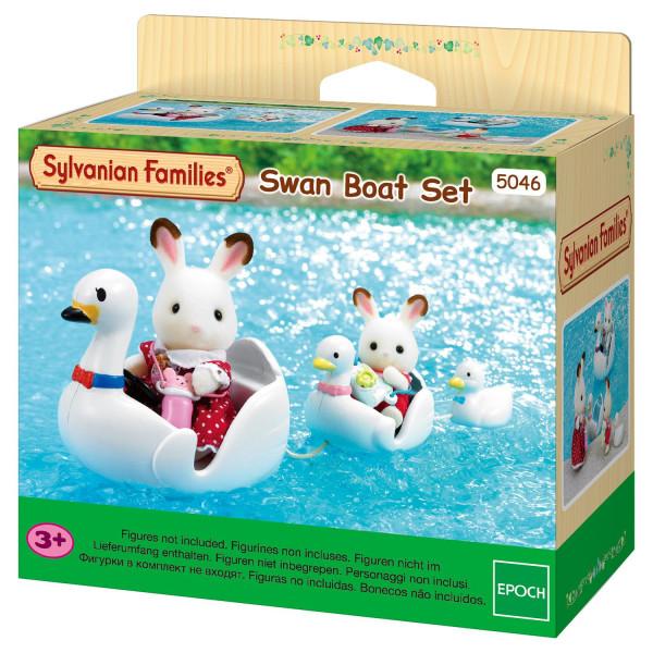 "Sylvanian Families набор ""Лодка-лебедь"""