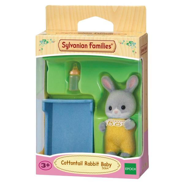 """Sylvanian Families набор """"Малыш Серый Кролик"""""""
