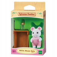 """Sylvanian Families набор """"Малыш Белый Мышонок"""""""