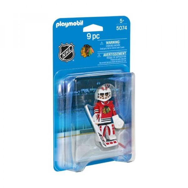 НХЛ Вратарь Чикаго Блэкхогс