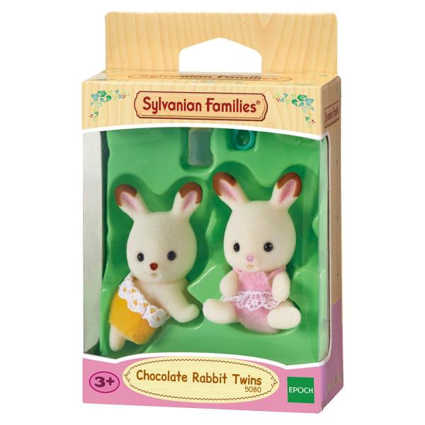 """Sylvanian Families набор """"Шоколадные Кролики-двойняшки"""""""
