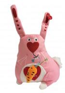 Мягкая игрушка Gulliver Зайка люблю, 20 см.