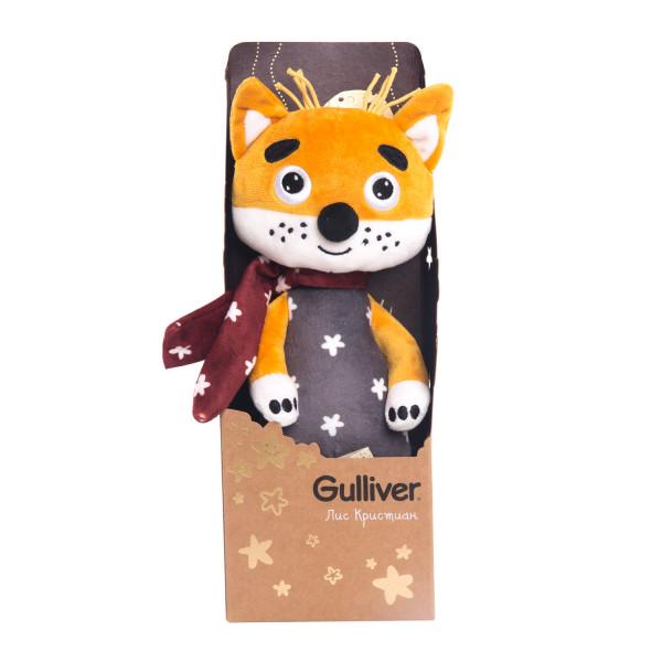 Мягкая игрушка Gulliver Лис Кристиан, 30 см