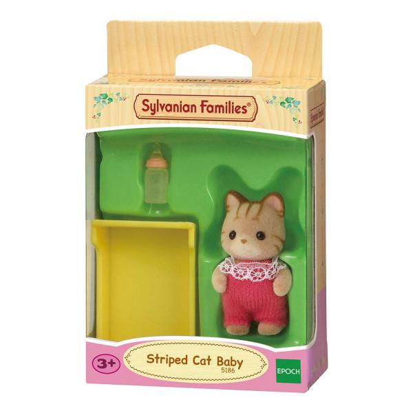 """Sylvanian Families набор """"Малыш Полосатый котёнок"""""""