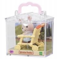 """Sylvanian Families набор """"Младенец кролик в коляске """""""