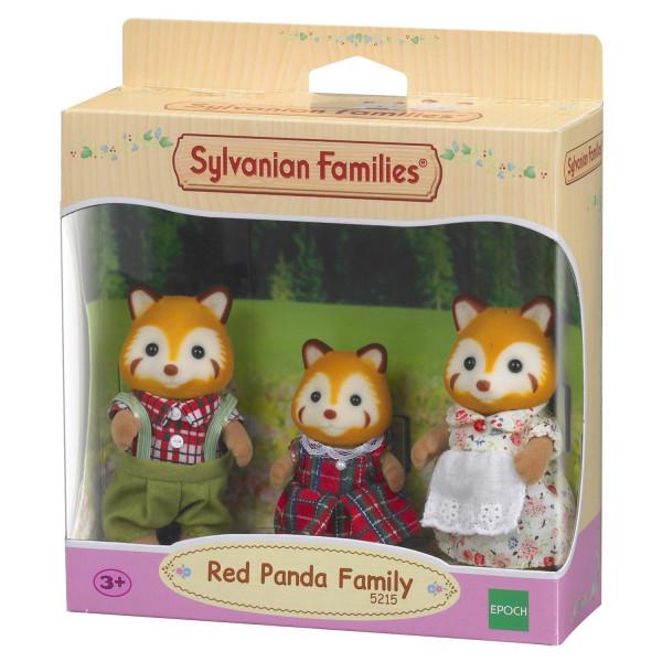 "Sylvanian Families набор ""Семья Красных панд"", 3 фигурки"
