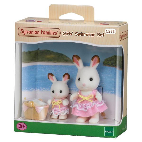 """Sylvanian Families набор """"Кролики в купальных костюмах"""""""