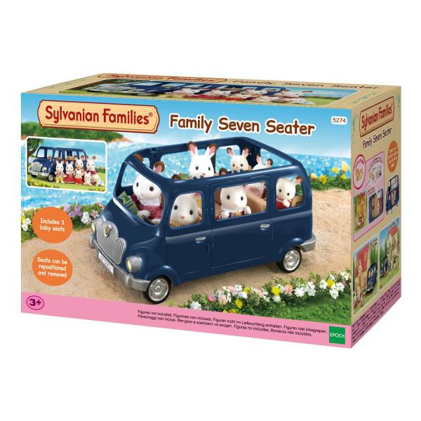 Sylvanian Families набор «Семейный автомобиль, 7 мест»