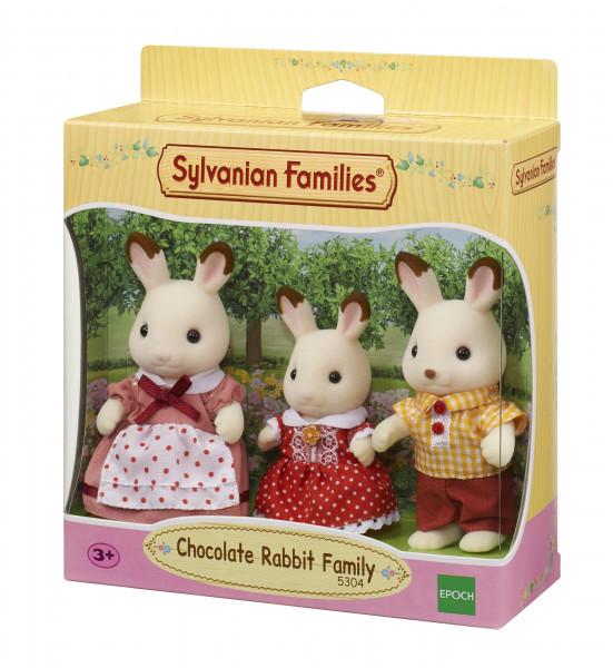Семья Шоколадных кроликов (3 фигурки)