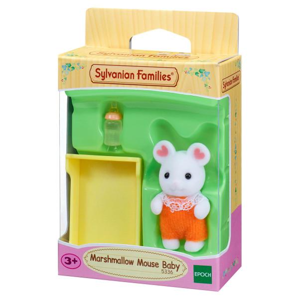 """Набор Sylvanian Families """"Малыш Зефирный мышонок"""""""