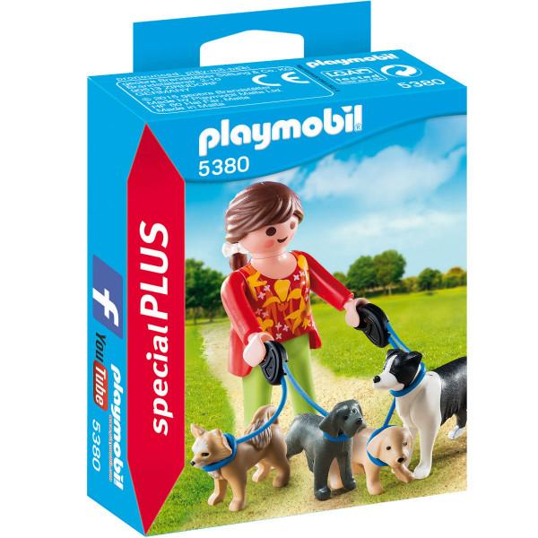 Конструктор Playmobil Экстра-набор: Выгул собак