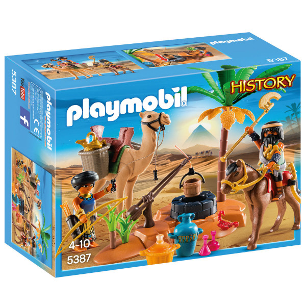 Конструктор Playmobil Римляне и Египтяне: Лагерь Расхитителей гробниц