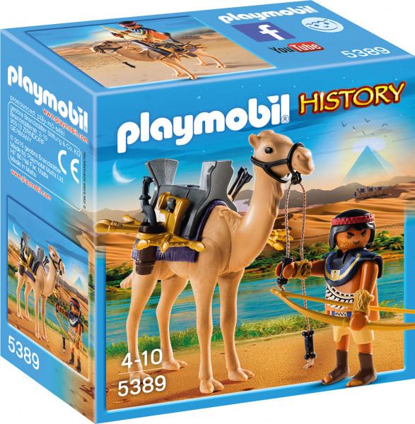 Конструктор Playmobil Римляне и Египтяне: Египетский воин с верблюдом