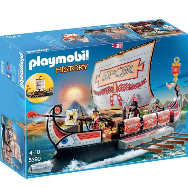Конструктор Playmobil Римляне и Египтяне: Корабль Римских воинов