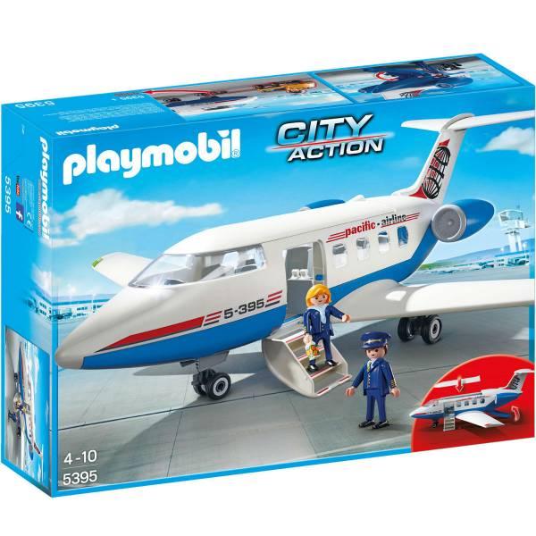 Конструктор Playmobil Городской Аэропорт: Пассажирский самолет