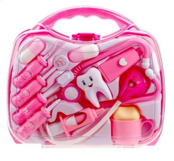 Набор доктора-дантиста в чемоданчике 12 предметов