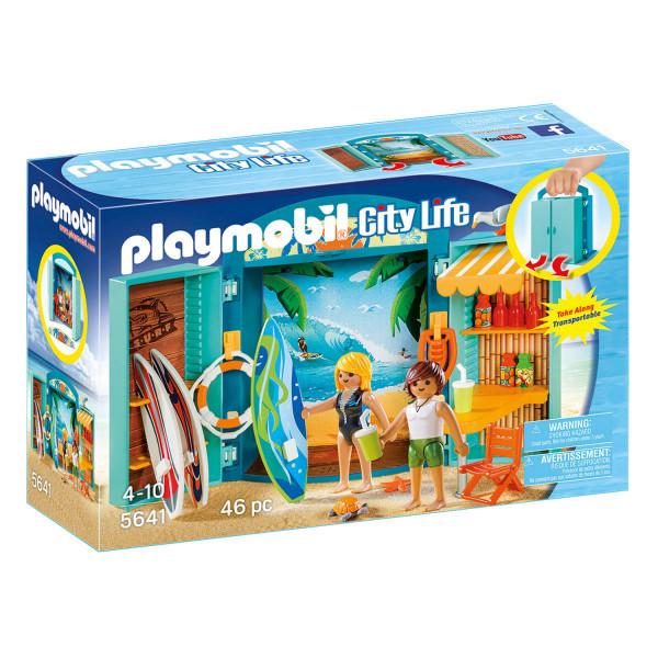 """Конструктор Playmobil Игровой бокс """"Магазин для серфингистов"""""""