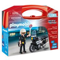 Конструктор Playmobil Возьми с собой: Полиция