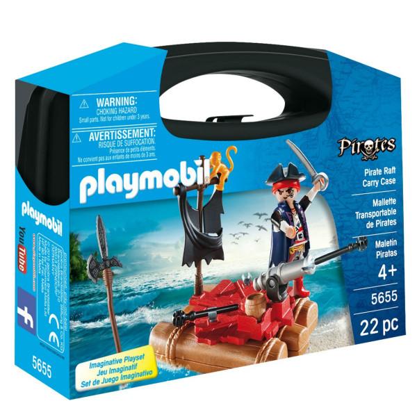 Конструктор Playmobil Возьми с собой: Пиратский плот